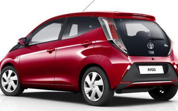 Rent Toyota Aygo 5 doors